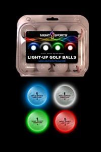 Light-up Golf Balls