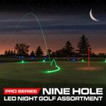 9 Hole Night Golf Set